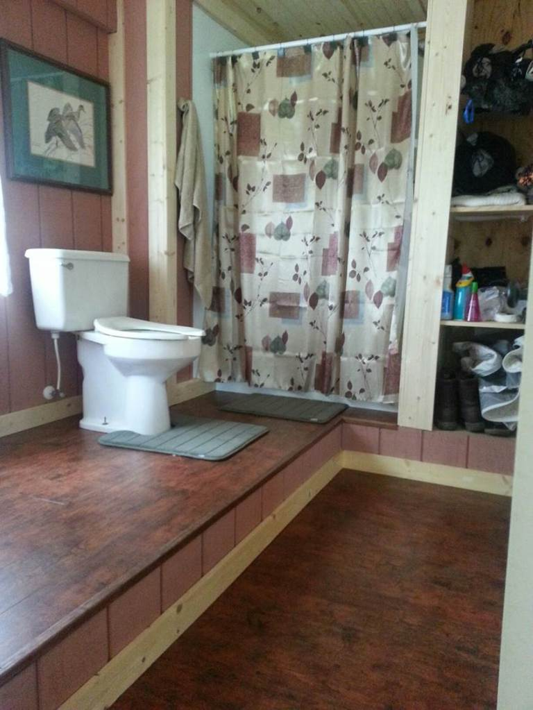 Private Bathroom in Bunkhouse.